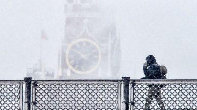 """Moskau rüstet sich für """"Schnee-Apokalypse"""""""