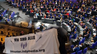 "Bundestag lehnt ""Indymedia""-Verbot ab – Trotz detaillierter Begründung kein Erfolg für AfD-Antrag"