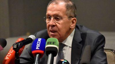 Russischer Außenminister warnt EU: Russland ist bereit, die Beziehungen zur EU abzubrechen