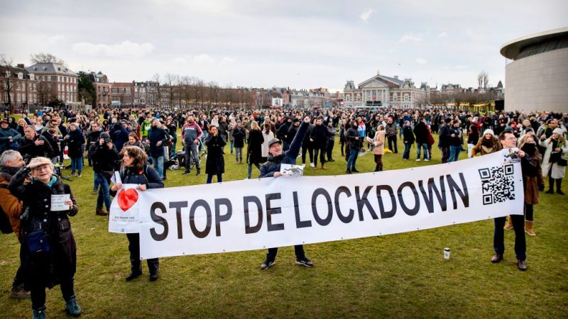Niederlande Lockdown