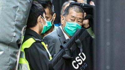 Hongkonger Medienunternehmer Jimmy Lai zu einem Jahr Haft verurteilt