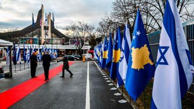 Kosovo nimmt diplomatische Beziehungen mit Israel auf
