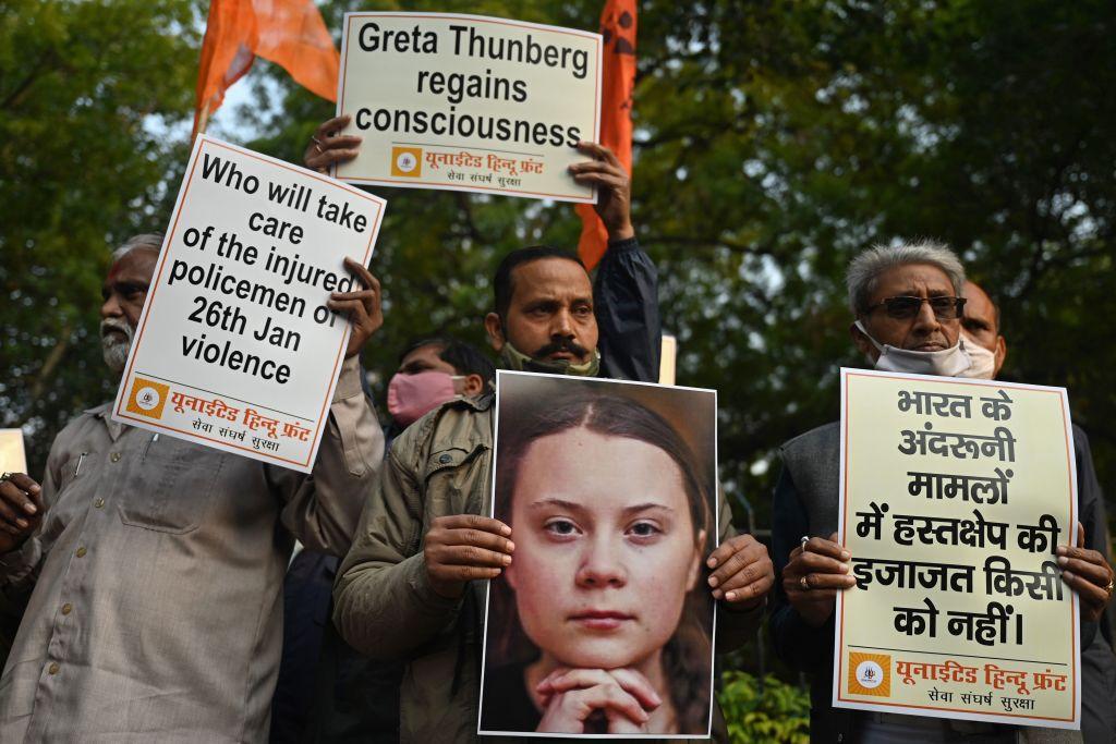 """Greta Thunberg und die Proteste der Landwirte in Indien – Strafverfahren gegen die Urheber des """"Toolkit""""-Dokuments"""