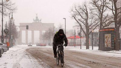 Stell dir vor, es ist Winter – und es schneit!