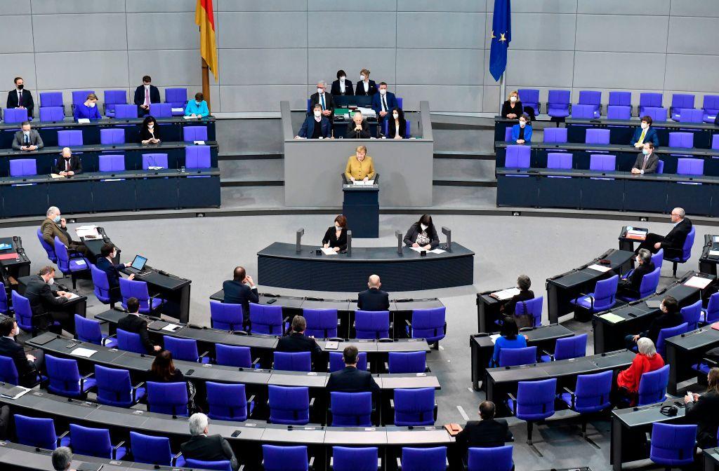 """Bundestag zu """"Next Generation EU"""": Namentliche Abstimmung über Ratifizierungsgesetz zum EU-Wiederaufbaufonds"""