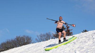 Kolumne vom Freischwimmer: Klimaerwärmung apokalyptisch +++ Schnee schon ganz heiß