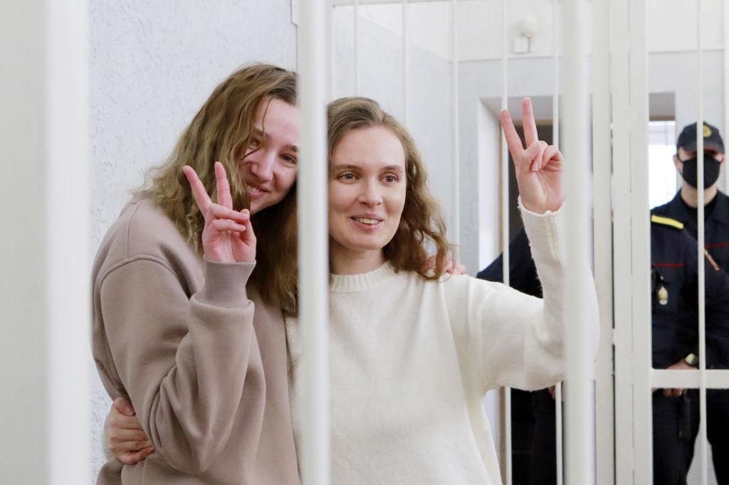Wegen regierungskritischen Protesten: Zwei Jahre Haft für zwei Journalistinnen in Belarus