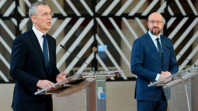 """Michel: Wechsel im Weißen Haus """"einzigartige Gelegenheit, transatlantische Allianz zu erneuern"""""""