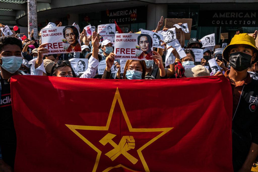 NLD: Myanmars Militär zerstört Zentrale von Aung San Suu Kyis Partei