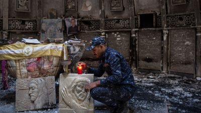 """Zentralrat beklagt """"Ignoranz"""" gegenüber Christen aus dem Nahen Osten"""