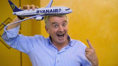 Ryanair muss umstrittene Werbung zurückziehen