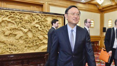 Peking fordert das Weiße Haus auf, nach den Regeln der KP Chinas zu spielen