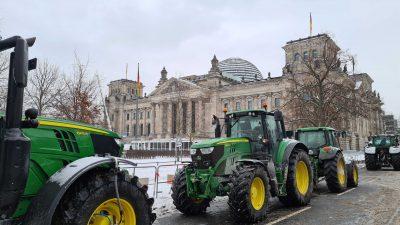 """Bauernproteste gegen """"Enteignung durch die Hintertür"""" – durch die geplante Insektenschutzverordnung"""
