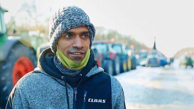 Manuel Dive beim Bauernprotest: Wir sind doch keine Berufsdemonstranten – Das ist ein trauriger Abschluss!