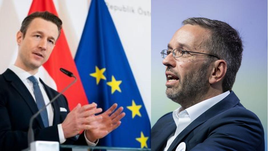 Misstrauensantrag gegen Ö-Finanzminister Blümel – Ex-Innenminister Kickl packt über Politsumpf aus