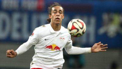 1. Bundesliga: Leipzig gewinnt nach Rückstand spät gegen Gladbach