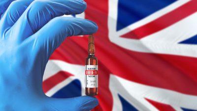 Britische Regierung veröffentlicht Bericht über Nebenwirkungen der Corona-Impfstoffe