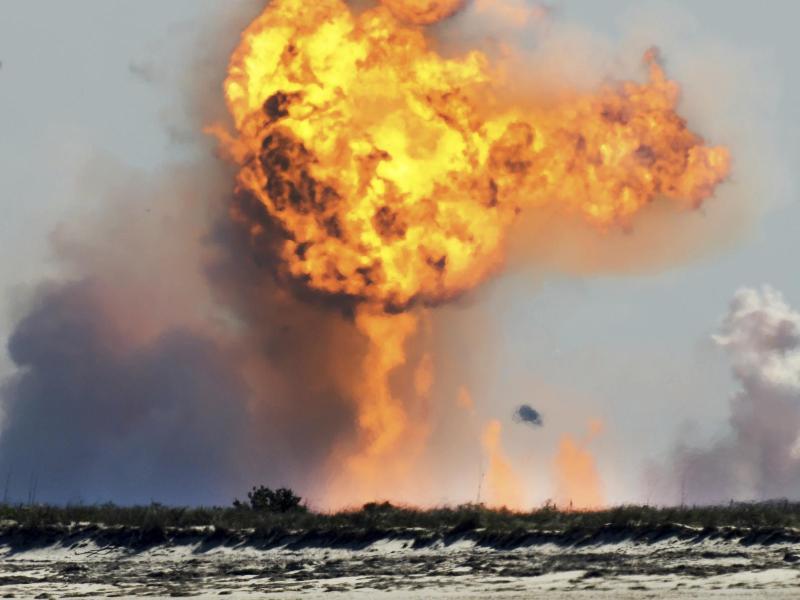 Prototyp von neuer SpaceX-Rakete bei Landung explodiert