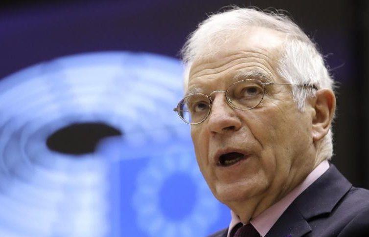 Borrell besorgt über russische Truppenbewegungen nahe der Ukraine