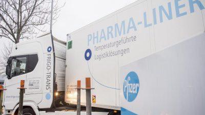 EU und Biontech/Pfizer schließen Vertrag zum Ankauf von bis zu 1,8 Milliarden Covid-Impfdosen
