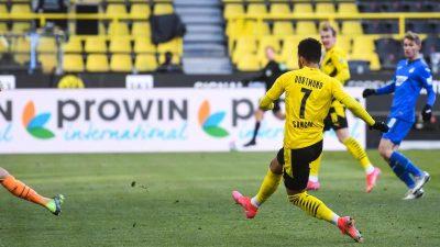 BVB weiter im Krisenmodus: Nur 2:2 gegen Hoffenheim