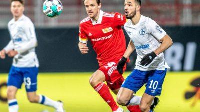 Abstieg rückt näher:Frostige Schalker Nullnummer bei Union