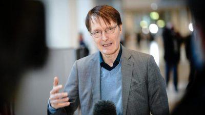 """Lauterbach: Ausgangssperre ist letztes Mittel – """"Kurzer, harter Lockdown für drei bis vier Wochen"""" wäre ideal"""
