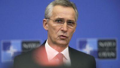 Nato reagiert zurückhaltend auf Beitrittsforderung der Ukraine