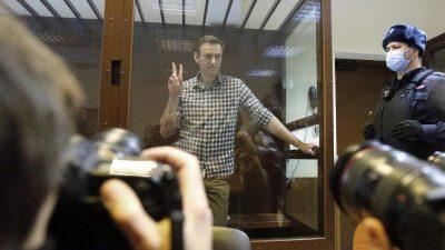Nawalny berichtet von neuen Ermittlungen gegen sich