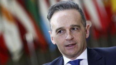 Kommende Woche erstes persönliches Treffen von Maas und US-Außenminister Blinken