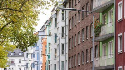 Deutlich weniger Immobilien im Angebot – Zinsen weiter auf Rekordtief