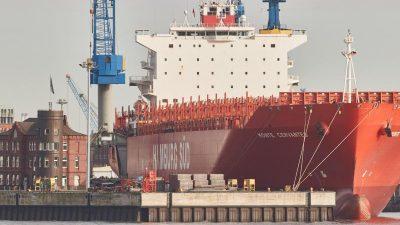Deutsche Seeschifffahrt überwindet Krise – trotzdem 400.000 Seeleute ohne Arbeit