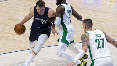 Doncic wirft Mavericks zum Sieg gegen Celtics