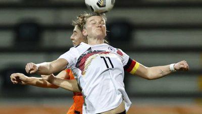DFB-Frauen verlieren unglücklich: 1:2 in den Niederlanden