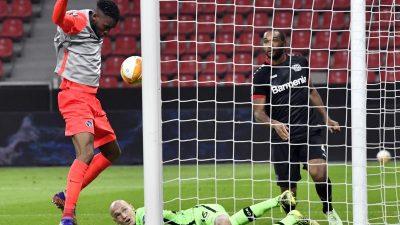 Leverkusen macht Blamage komplett – Patzer von Lomb