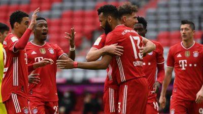 Müller und Gnabry zurück: FCBayern bejubelt Sieg gegen Köln