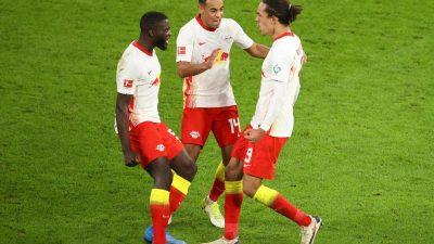 RB Leipzig mit Herz: Sieg in letzter Sekunde gegen Gladbach