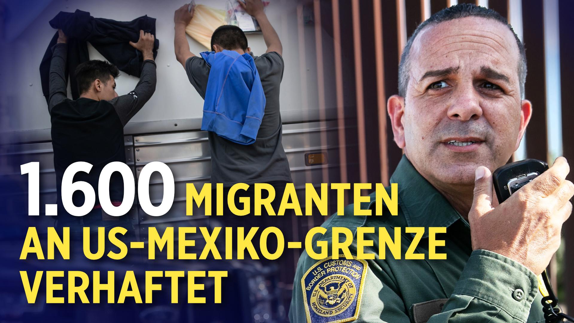 YouTube sperrt Konto nach Übertragung von Trump-Rede | 1.600 Migranten an US-Mexiko-Grenze verhaftet