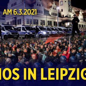 Demos in Leipzig: Sachbeschädigungen und Blockaden bei Autokorsos von Kritikern der Corona-Maßnahmen