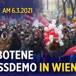 Wien: Verbotene Großdemo gegen die Corona-Politik wird zum Spaziergang