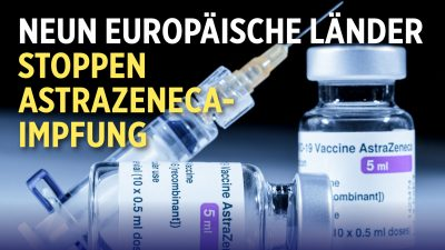 Neun Europäische Länder stoppen Astrazeneca-Charge | EU plant 1,5 Billionen Corona-Konjunkturprogramm