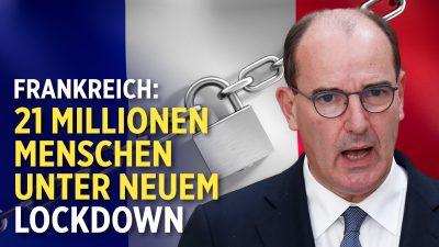 Neuer Lockdown in Frankreich – 21 Millionen Menschen betroffen