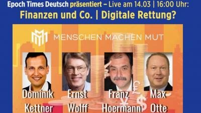 """Video: """"Menschen machen Mut"""": Finanzen und Co. – digitale Rettung?"""