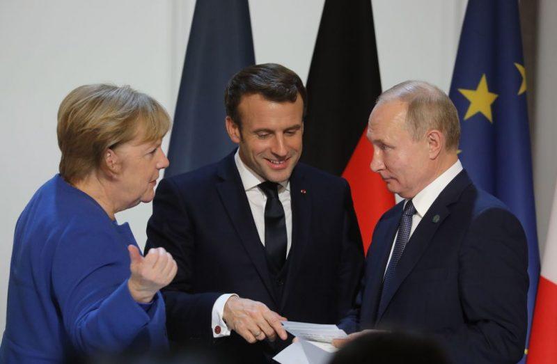 Merkel, Putin und Macron sprechen über Ukraine, Belarus und Syrien