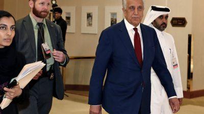 Taliban: Treffen mit US-Afghanistan-Gesandtem in Katar