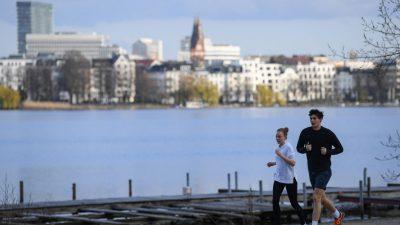 Hamburg kündigt wegen sinkender Corona-Infektionszahlen Öffnungsschritte an