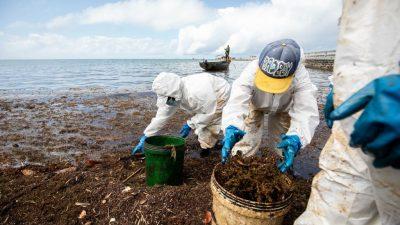Chinesischer Trawler mit 130 Tonnen Heizöl vor Mauritius auf Grund gelaufen