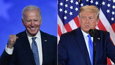 Trump enthüllt, was er Biden in seiner Abschiedsnotiz geschrieben hat