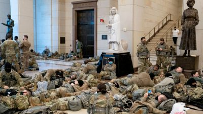 Im US-Kapitol stationierte Soldaten aufgrund von bereitgestelltem Essen erkrankt