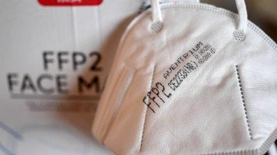 RKI-Chef Wieler: FFP2-Masken nicht besser als Operationsmaske